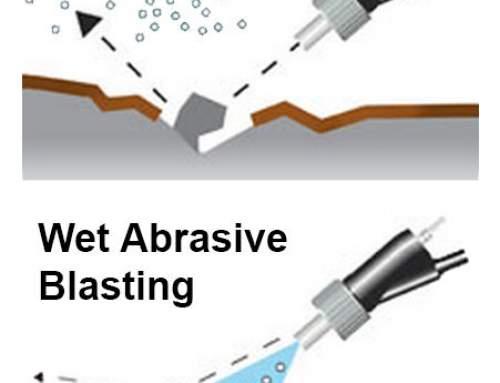 Sandblasting vs Wet Abrasive Blasting