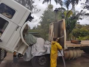 Truck Blasting