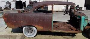 Removing Rust from an old Chevy