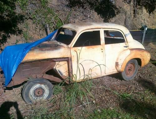 Automotive Restoration on a 1950 Holden Humpy